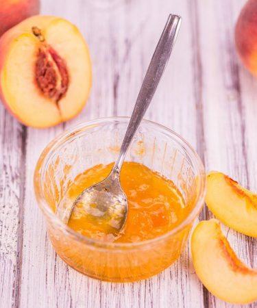 Peach Jam -Sugar-Free