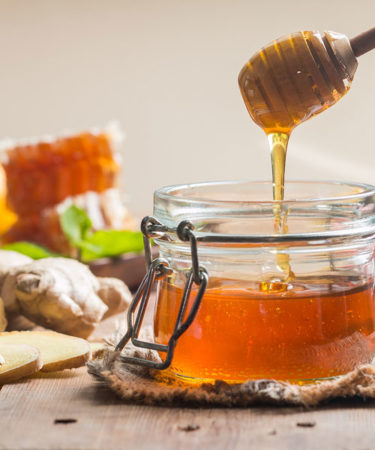 Raw Liquid Honey - 2 lb