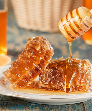 Raw Liquid Honey - 5 lb