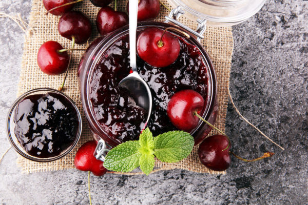 Red Cherry Jam - Sugar-Free