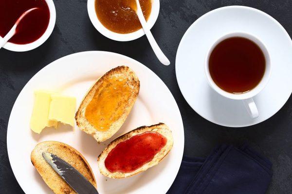 Strawberry and Peach Jam - Sugar-Free